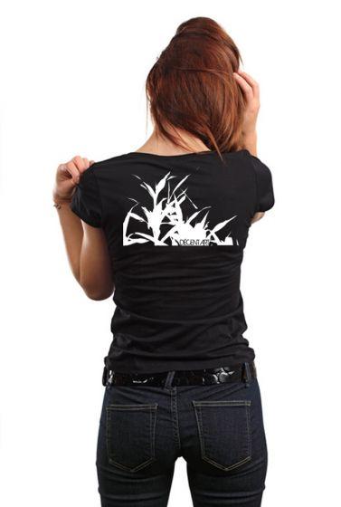 Dámské designové tričko s potiskem ,,Bambus,,
