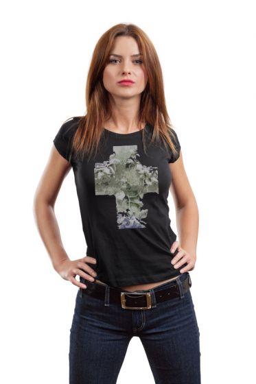 Dámské designové tričko s potiskem ,,Floral,,