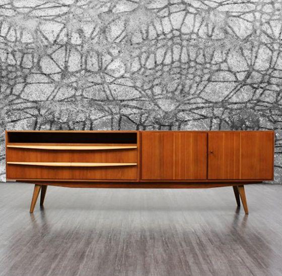 """Luxusní vliesová tapeta """"Concrete knitting""""  z kolekce Beton story"""
