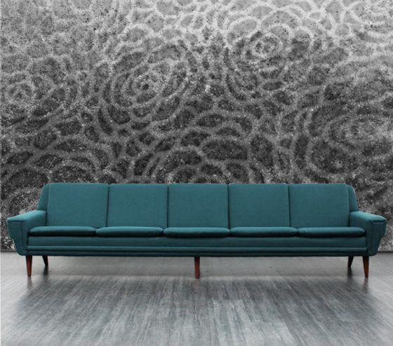 """Luxusní vliesová tapeta """"Concrete flowers"""" z kolekce Beton story"""