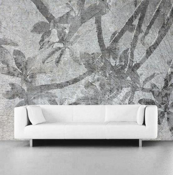 """Luxusní vliesová tapeta """"Succulents"""" z kolekce beton story"""