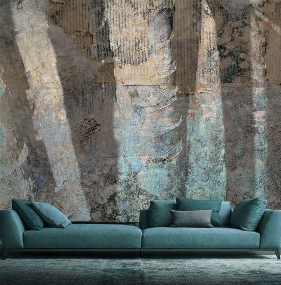 Luxusní vliesová tapeta Turquoise shadows