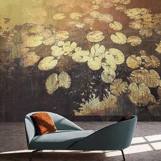 Luxusní vliesová tapeta Water lilies