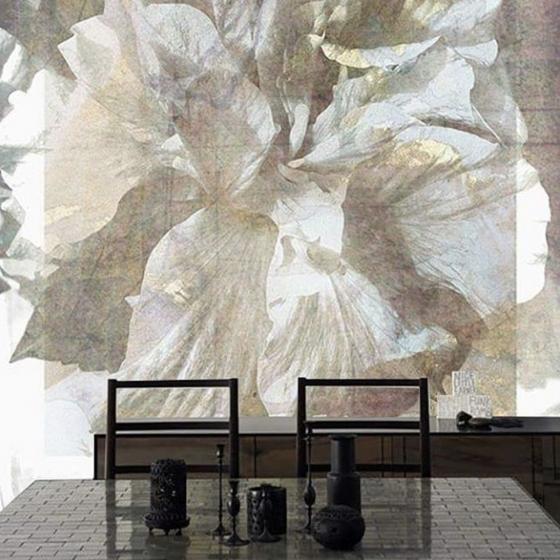 Luxusní vliesová tapeta Hibiscus