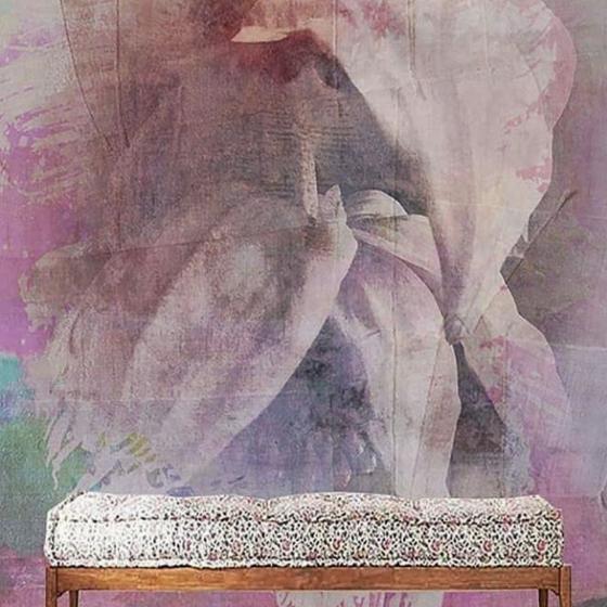 """Luxusní vliesová tapeta """"Pink fleur"""""""
