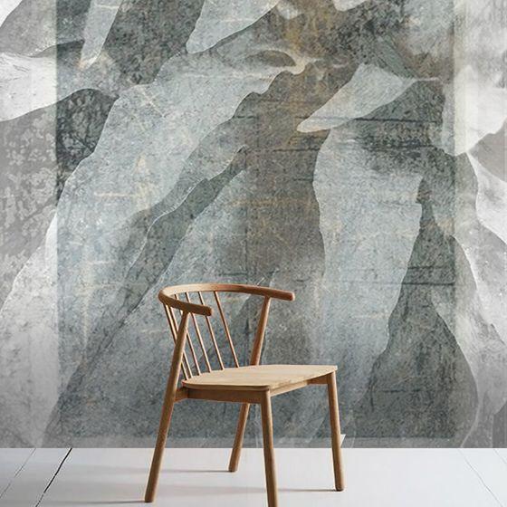 """Luxusní vliesová tapeta """"Concrete leaves"""""""