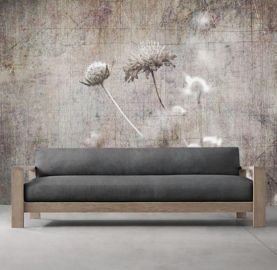 "Luxusní vliesová tapeta ""Flowering meadow"""