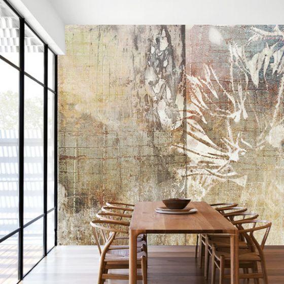 """Luxusní vliesová tapeta """"Flower on the wall"""""""