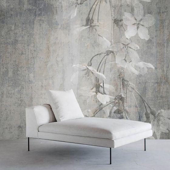 """Luxusní vliesová tapeta """"Flowering concrete"""""""