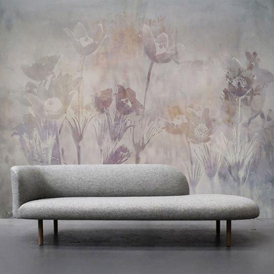 """Luxusní vliesová tapeta """"Pastel flowers"""""""