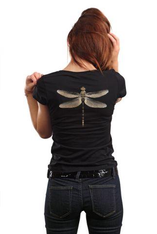 Originální dámské tričko ,,Vážka,,