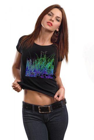 Dámské designové tričko s potiskem ,,Grass,,