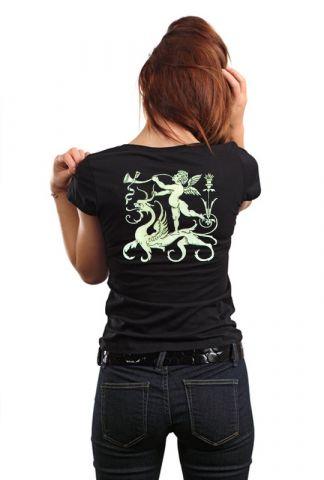 Luxusní designové tričko s potiskem ,,Angel,,