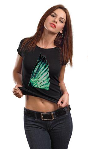 Dámské originální s potiskem tričko ,,Wing,,