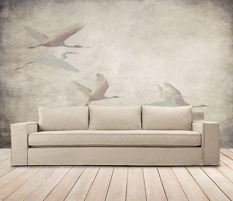 """Luxusní vliesová tapeta """"Vintage style - Herons"""""""