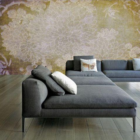 """Luxusní vliesová tapeta """"Chrysanthemum"""""""