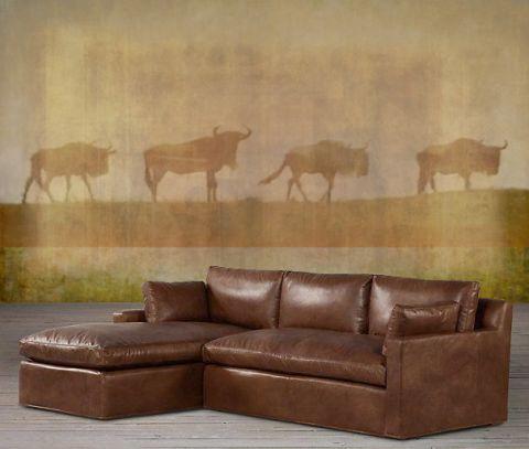 "Luxusní vliesová tapeta ""Four wildebeest"""