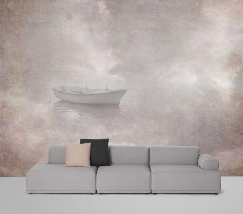 """Luxusní vliesová tapeta """"Sky boat"""""""