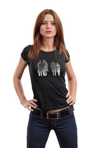 Dámské designové tričko s potiskem ,,Wall street,,