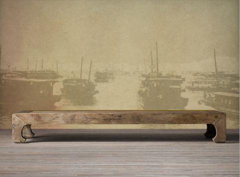 """Luxusní vliesová tapeta """"Vintage style - Boats"""""""
