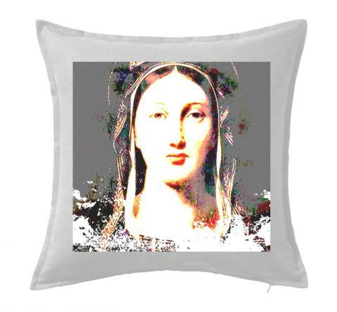Luxusní dekorační polštář - povlak Portrét