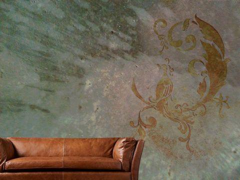 """Luxusní designová vliesová tapeta """"Vintage style - Peacock"""""""
