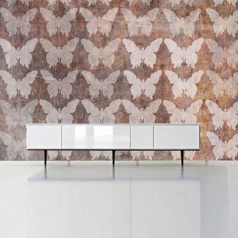 """Luxusní vliesová tapeta """"Butterflies I"""" z kolekce Beton story"""