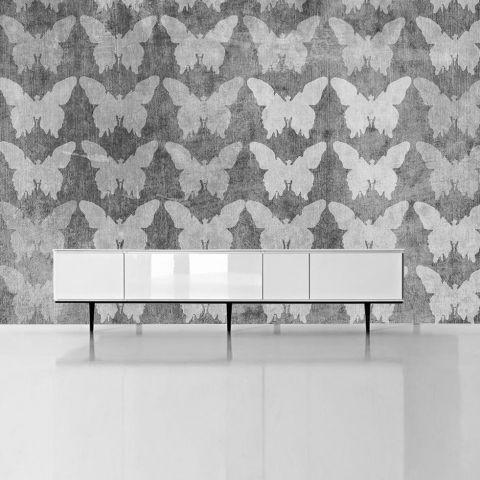 """Luxusní vliesová tapeta """"Butterflies II"""" z kolekce Beton story"""