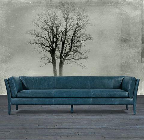 """Luxusní vliesová tapeta """"Lonely tree"""" z kolekce Beton story"""
