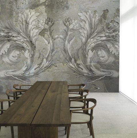 """Luxusní vliesová tapeta """"Artichokes """"z kolekce Beton story"""