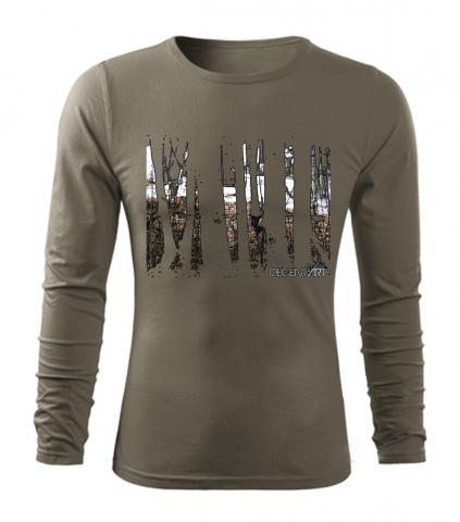 """Pánské triko s dlouhým rukávem """"Forest"""""""