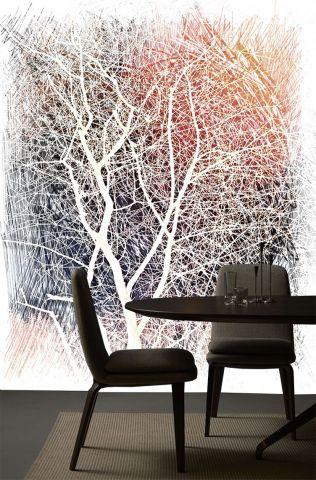 """Luxusní vliesová tapeta """" Colorful tree"""""""