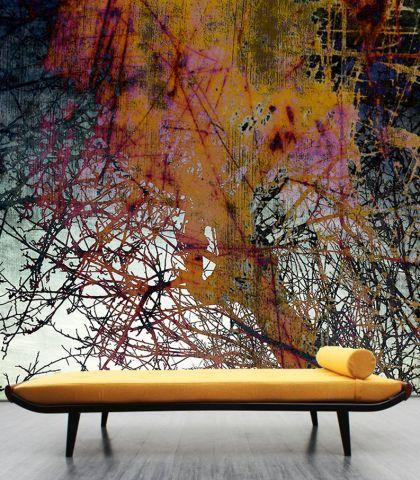 """Luxusní vliesová tapeta """"Orange tree"""""""