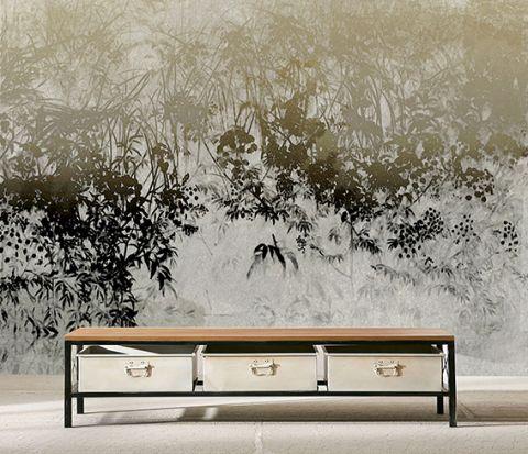 """Luxusní vliesová tapeta """" Floral wall"""""""