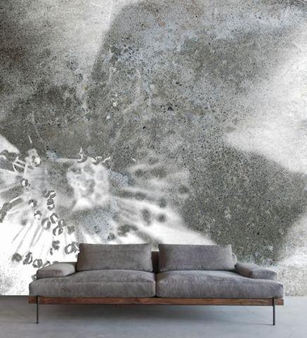 """Luxusní vliesová tapeta """"Concrete rose"""" z kolekce Beton story"""