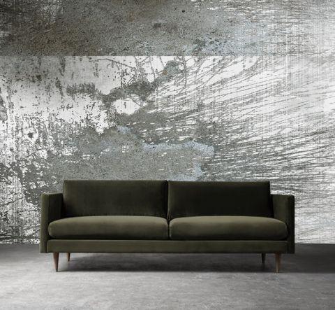 """Luxusní vliesová tapeta """"Concrete lines"""" z kolekce Beton story"""