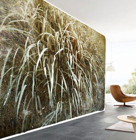 "Luxusní vliesová tapeta ""Brown grass"""