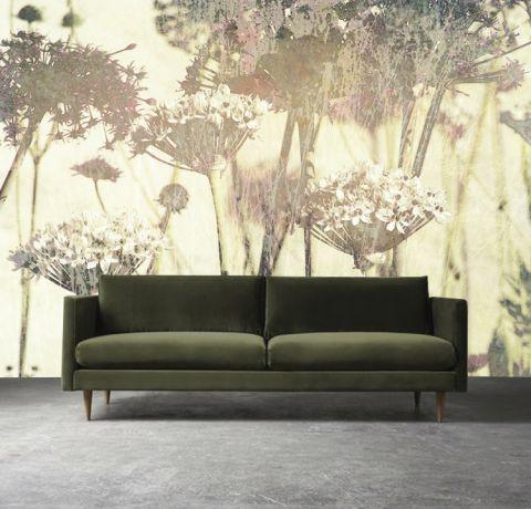 "Luxusní vliesová tapeta ""Meadow flowers"""