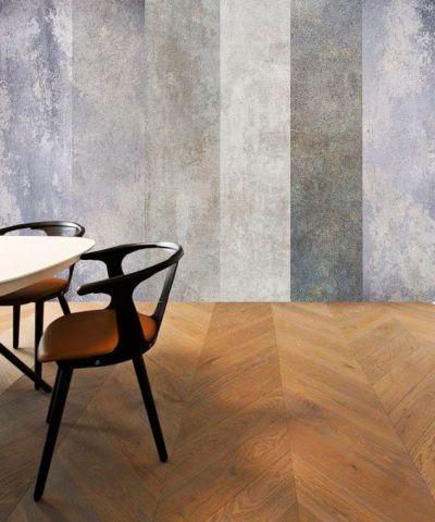 """Luxusní vliesová tapeta """"Gray stripes"""" z kolekce Beton story"""