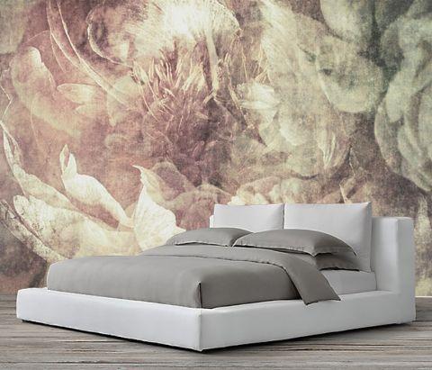 Luxusní vliesová tapeta  Tapestry flowers