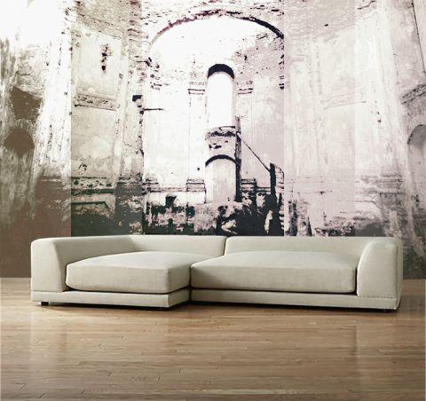 Luxusní vliesová tapeta Temple walls