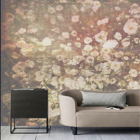 """Luxusní vliesová tapeta """"Tiny flowers"""