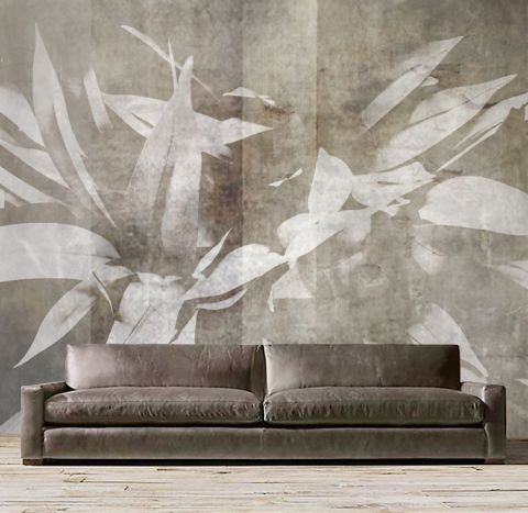 """Luxusní vliesová tapeta """"Large white flowers"""""""