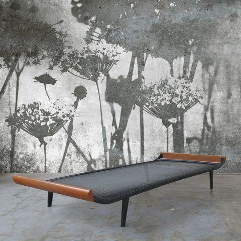 """Luxusní vliesová tapeta """"Meadow flowers"""" z kolekce Beton story"""