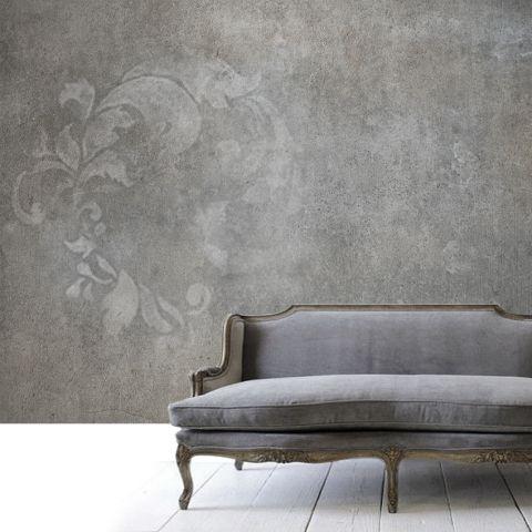 """Luxusní vliesová tapeta """"Vintage style in gray 2"""""""