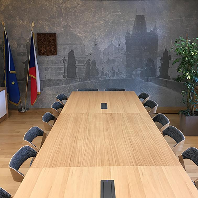 Brusel - EU Národní místnosti České republiky v Bruselu